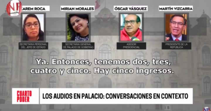 Cuarto Poder: sobre los audios difundidos ¿Cuál es el contexto en el que se grabaron los audios entre Vizcarra y sus asesores?
