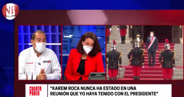 Premier Martos habla sobre un posible complot planificado desde meses atrás  por parte del Presidente del Congreso de la República