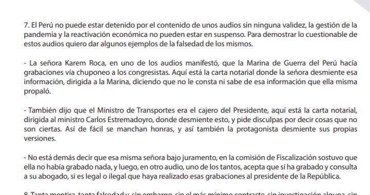 """Vacancia presidencial : Martin Vizcarra """" soy consecuente, no me corro"""" """"¿Por qué estamos aquí? """"reconozco mi voz"""" """"no acepto la imputación"""" """"El Perú no puede estar detenido"""" contradicciones"""