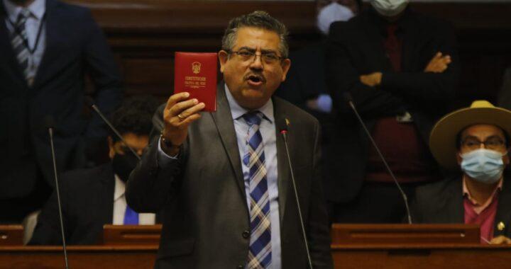 Presidente del Congreso de la República (AP) continua en su cargo al ser rechazada la Moción de Censura con 93 votos en contra, 10 a favor y 21 abstenciones