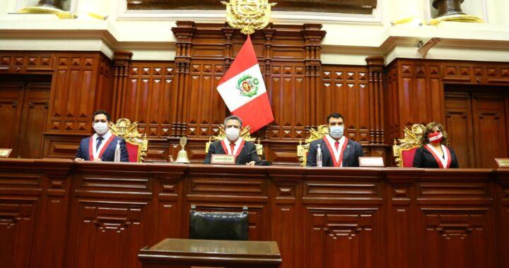 Congreso de la República sesionará mañana viernes 18 a las  10:00 am se iniciará el procedimiento de vacancia presidencial