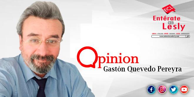 Columnista Gastón Quevedo Pereyra